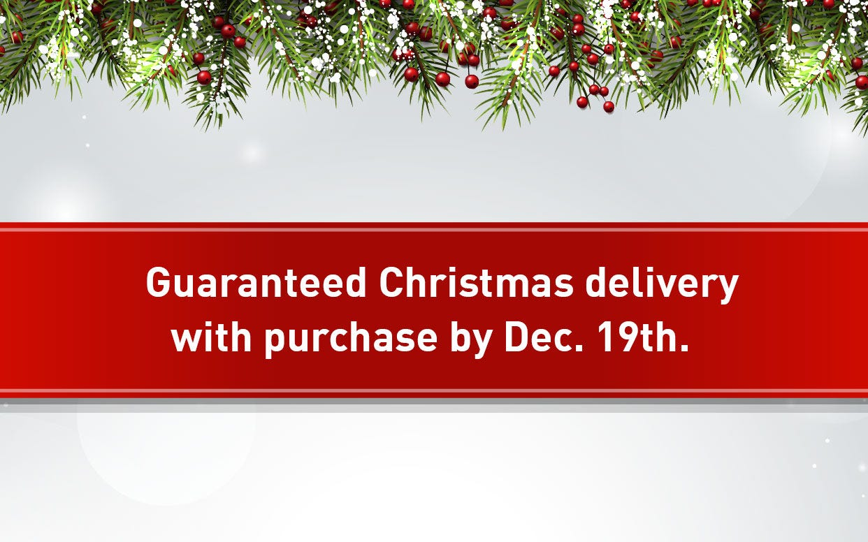 Christmas Delivery smaller banner