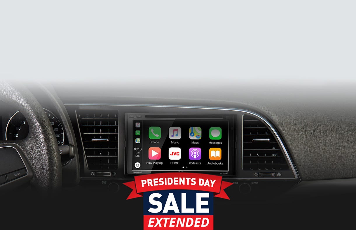 Car Audio Car Play PresidentDay extended Sale