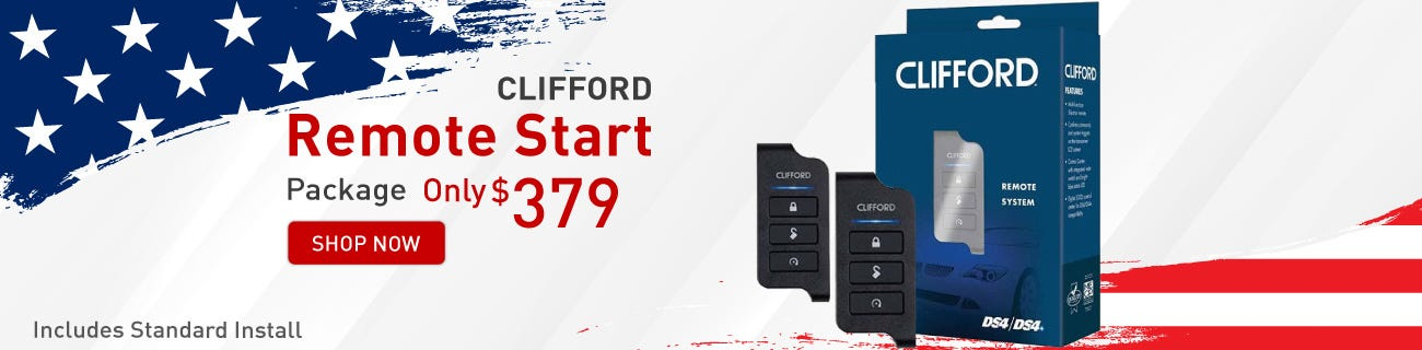 Clifford remote start Presidents day Sale