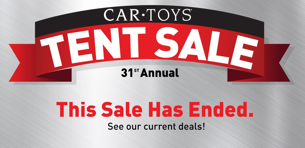 Tent Sale End middle banner