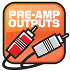Pre-Amp Outputs