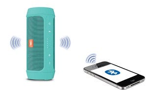 JBL Charge 2+ Bluetooth Streaming