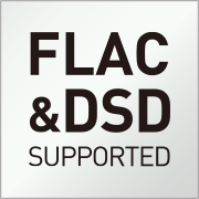 FLAC & DSD Support