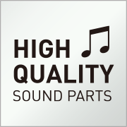 High Quality Sound Parts