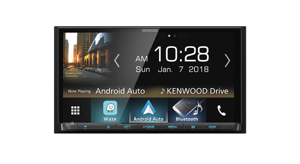 Android Auto Kenwood Reciever